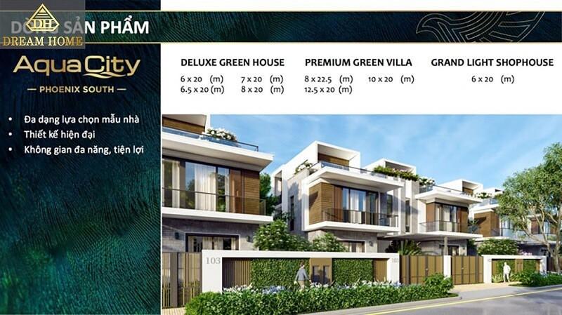 Shophouse dự án Aqua City Đồng Nai