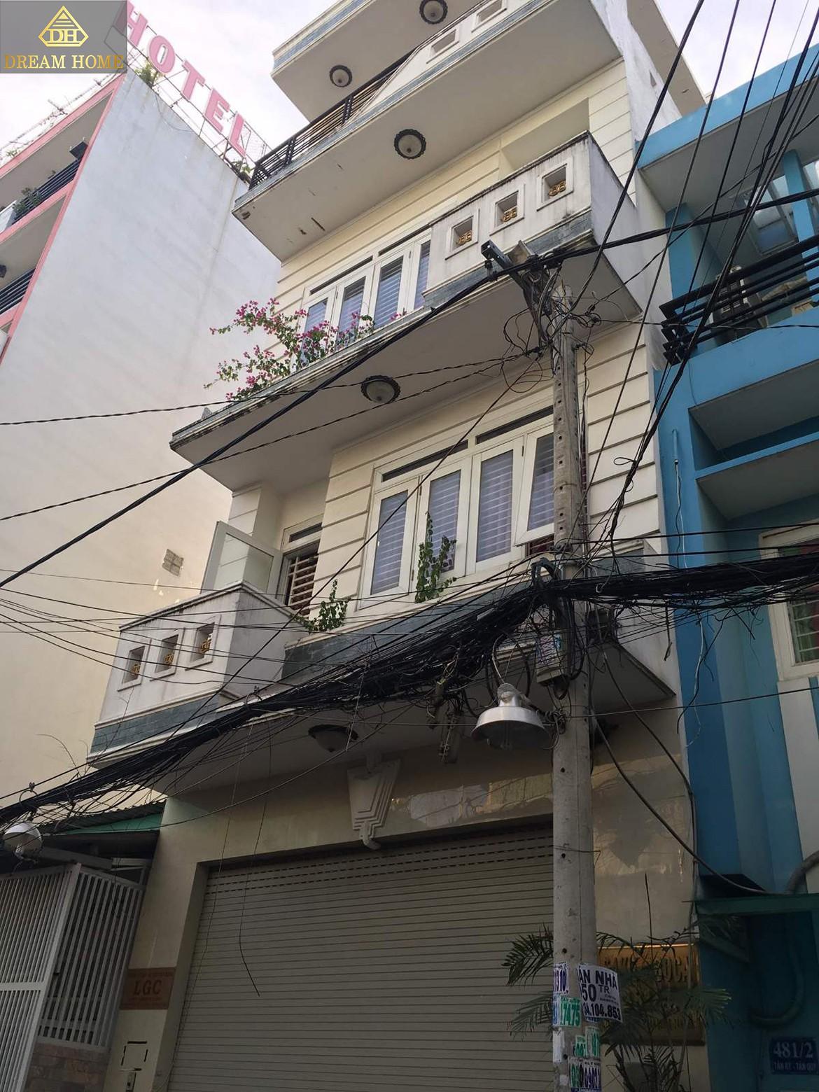Bán nhà 481/4 đường Tân Kỳ Tân Quý, quận Tân Phú