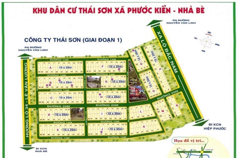 Lô đất Thái Sơn, Nhà Bè
