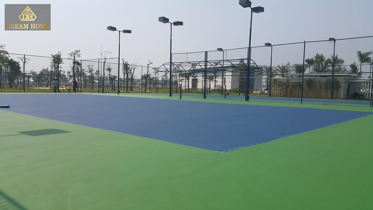 Hình ảnh thực tế sân thể thao của dự án Lovera Park Bình Chánh