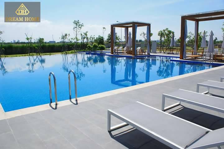 Tiện ích hồ bơi dự án Park Riverside Q9