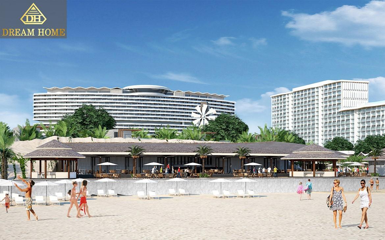 Sea restaurant facade