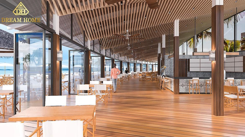 Sea restaurant indoor