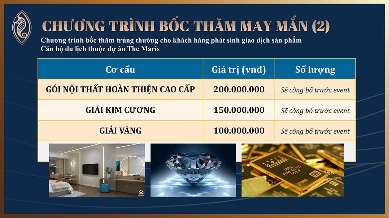 Chính sách ưu đãi của dự án The Maris Vũng Tàu