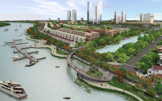 """Nhiều """"ông lớn"""" BĐS phát triển thành công mô hình đại đô thị làm thay đổi đáng kể diện mạo Tp.HCM"""