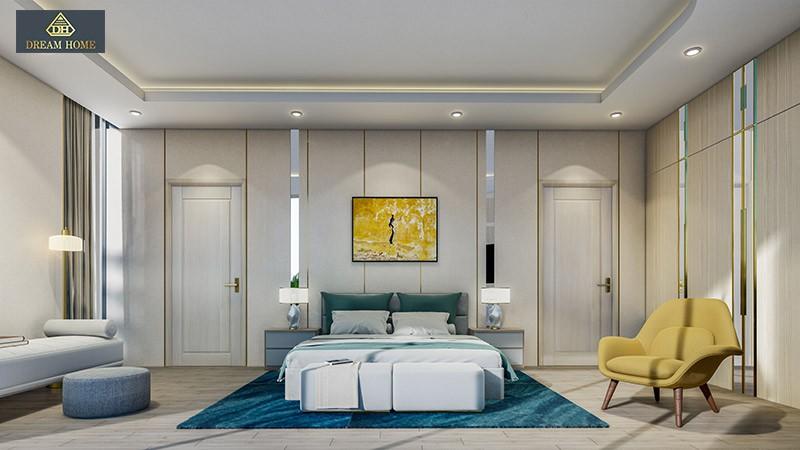 Mẫu nội thất phòng ngủ Detachech Villa -Venezia Beach