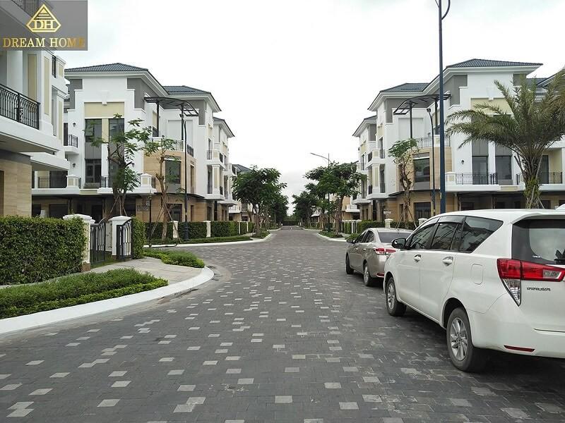 tiến độ biệt thự verosa park khang điền quận 9