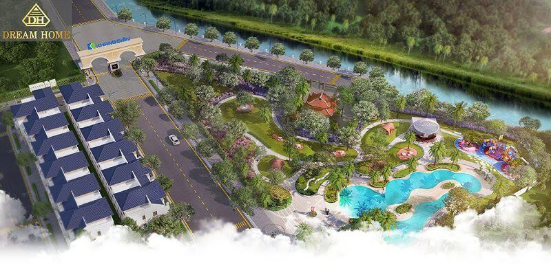 cảnh quan dự án verosa park khang điền quận 9