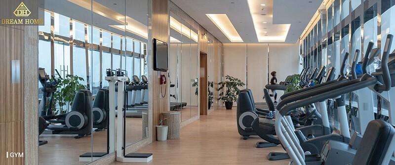 tiện ích phòng tập gym tại verosa park